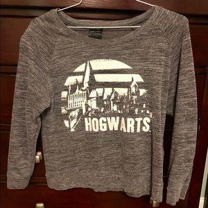 Harry Potter TM Hogwarts Sweatshirt - Juniors Lrg